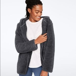 PINK Victoria's Secret Oversized Sherpa Cardigan